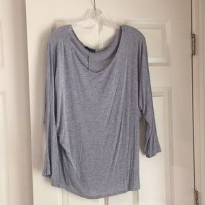 Gray Dolman Shirt